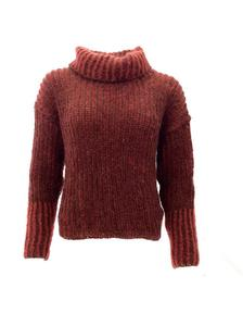 2-colored Fisherman's Rib Sweater Gep.Da-14-06