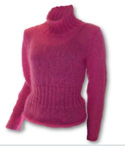 Gepard Sweater with ribbed waist