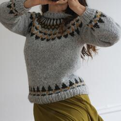 Gepard Sweater or vest with Icelandic yoke