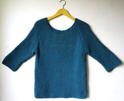 Gepard Silky Summer garter stitch sweater