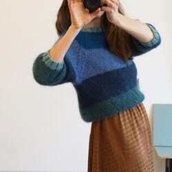 Gepard Idun – Striped mohair sweater D