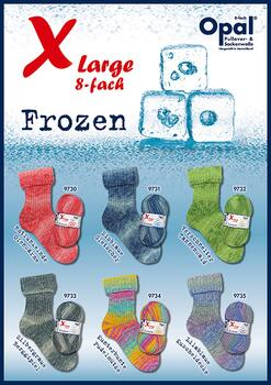 Opal Sock yarn XLarge Frozen - 8-ply