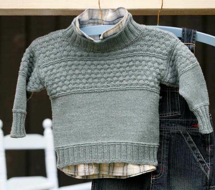423e30f337f Gepard Sømandssweater 5 - 14 år - Gep.Bø-09-10 - Fra Gepardgarn.dk