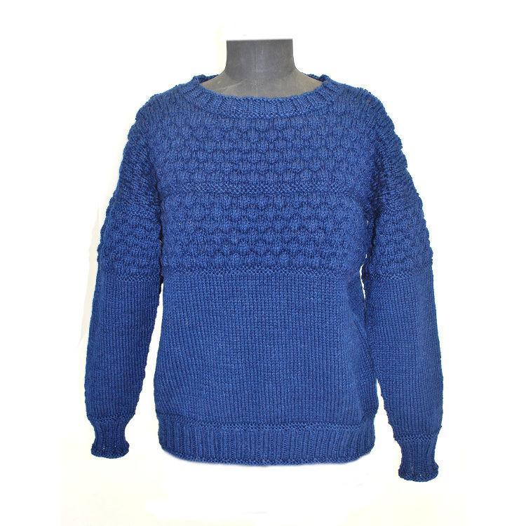 sømandssweater opskrift
