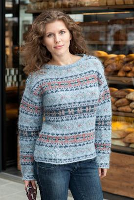 Gepard Fair-isle sweater