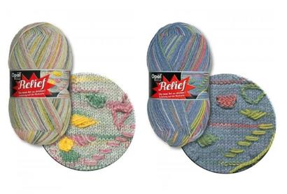 Opal sock yarn Relief 1 - 4-trd
