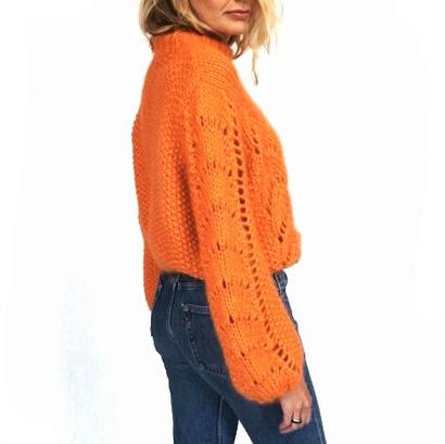 Gepard Montgolfier – balloon-sleeved sweater D