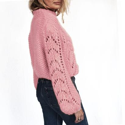 Gepard Montgolfier – balloon-sleeved sweater