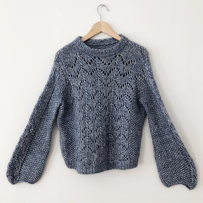 Gepard Kongming  – balloon-sleeved sweater D