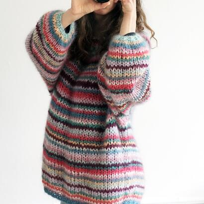 Gepard Freja – Multi stripe sweater