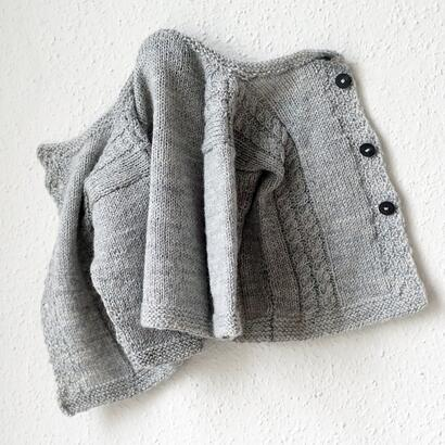 Gepard Siblings – three-in-one baby cardigan D
