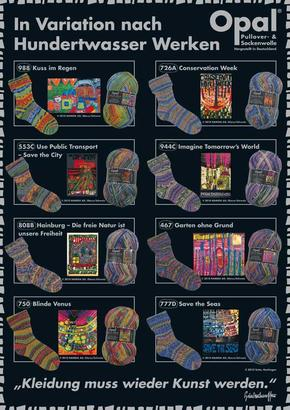 Hundertwasser III, in stock
